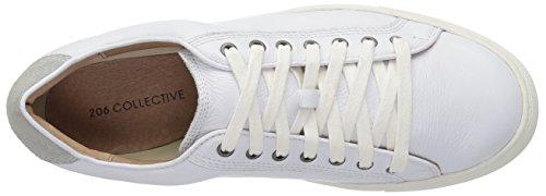 Leather White Men's Sneaker Prospect Lace Collective up Fashion 206 q8U01