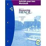 Discovering French, Nouveau! Bleu 9780618298365