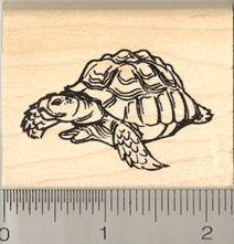Tortoise Rubber Stamp - Rubber Tortoise