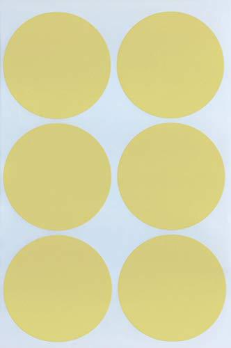 Royal Green Round Sticker dot Label 2