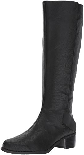 Aerosoles A2 Women's CRAFTWORK Knee High Boot, Black Polyurethane, 6 M US