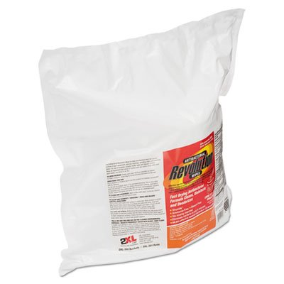 Antibacterial Revolution Wipes, White, 6 x 8, 800/PK, 4 PK/CT by 2XL Corporation, Inc