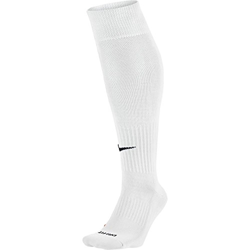 Nike CLASSIC FOOTBALL DRI-FIT CLASSIC SOCK [White] (M) (White Socks Football)