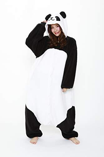 (Panda Fluffy Kigurumi Costume)