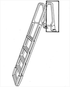 Confer Ck7100X Conversion Kit for Model 7100X Ladder-Warm Gray