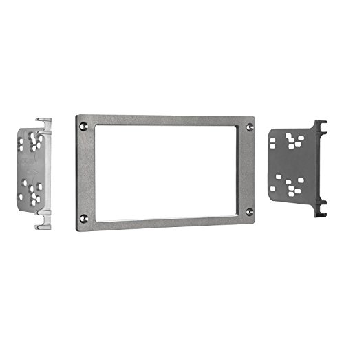 Metra 95-5025 Double DIN Installation Dash Kit for 1987-1993 Ford Mustang 1987 1988 1989 1990 Car
