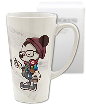 (Disneyland Mickey Mouse ''Happiest Hipster on Earth'' Mug - Exclusive & Limited Availability)