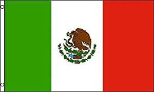 Jaeg® New Polyester 4x6 Mexico Mexican National Flag