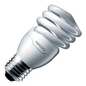 Philips 455196 - SBC-EL/mdTQS 13W T2 6/1 Twist Medium Screw Base Compact Fluorescent Light Bulb ()