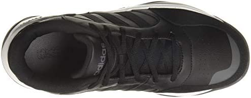 adidas Men's Streetmighty 39s Basketball Shoes, Black (CORE Black/CORE Black/Gray SIX), 10 UK