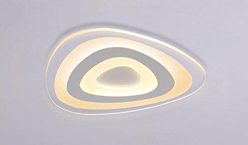 Plafoniere Slim Led Calda : Gzlight moderno plafoniera led lampada da soffitto ultra slim