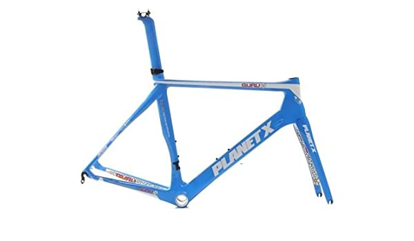 Planet X N2A Carbon Road Frame And Fork - Guru - Large: Amazon.ca ...