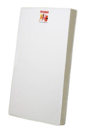 Dream On Me 3 Portable Crib Mattress, White Model: 24 (Newborn, Child