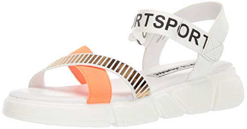 Dirty Laundry by Chinese Laundry Women's All TIME Sport Sandal, White, 7.5 M US