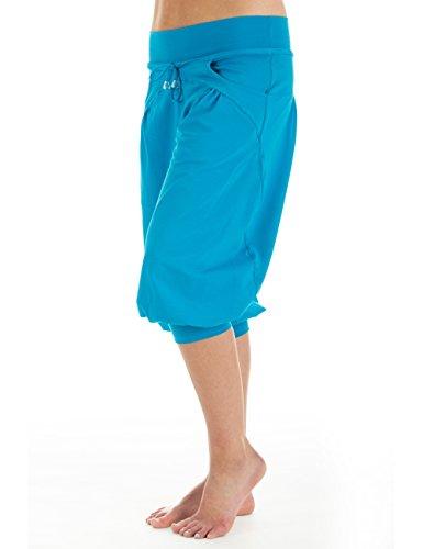 Winshape WBE3 Pantalon d'entraînement 3/4 pour femme XS Turquoise - Turquoise