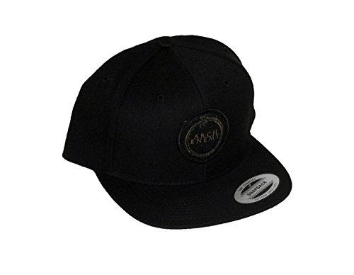 Arch Enemy (Gold Snake Logo) Snap-Back Hat (Arch Logo Cap)