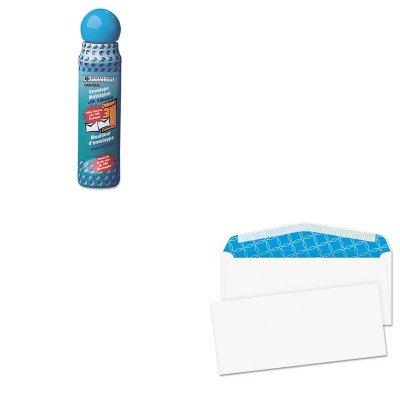 KITQUA46065QUA90019 - Value Kit - Quality Park Tinted Envelope (QUA90019) and Quality Park Envelope Moistener w/Adhesive (QUA46065)