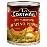 La Costena Sliced Jalapeno, 12-Ounce (Pack of 12)