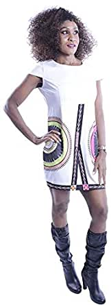 Clickonstyle Sheath Dress For Women - S, White