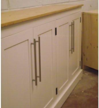 100% armario de madera maciza, 180 cm de ancho 4 puerta pintada de blanco y de lino encerado de doble propósito, zapato, pasillo, baño o cocina armario de almacenamiento. Sin paquetes planos,