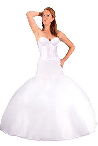 Bridal Petticoat Crinoline Slip for Fit to Flare Wedding ...