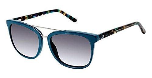 Petites Ann Taylor - Sunglasses Ann Taylor Petite ATP 908 C03 DK TEAL/TEAL