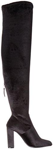 Madden Steve Negro para Emotion Botines Black Mujer Velvet pqxHAwdOq
