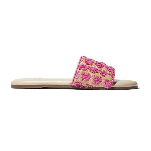 Samra Reese Women's Pink Slides Lemonade Yosi dYHAxqwx