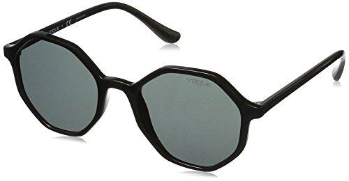 VOGUE Women's 0vo5222s Round Sunglasses, BLACK, 52 ()