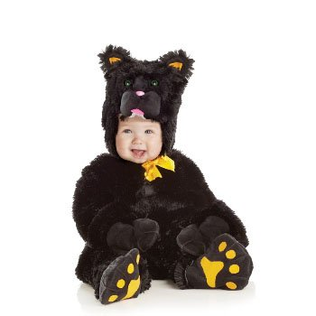 Black Cat - Jumpsuit Toddler Costume Size 6-12 months Small]()