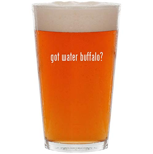 - got water buffalo? - 16oz All Purpose Pint Beer Glass