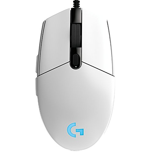 Logitech G102 PRODIGY Gaming Mouse Optical 8000DPI Wired Game Mouse Support Desktop/ Laptop Support windows 10/8/7 Logitech G102 (White)