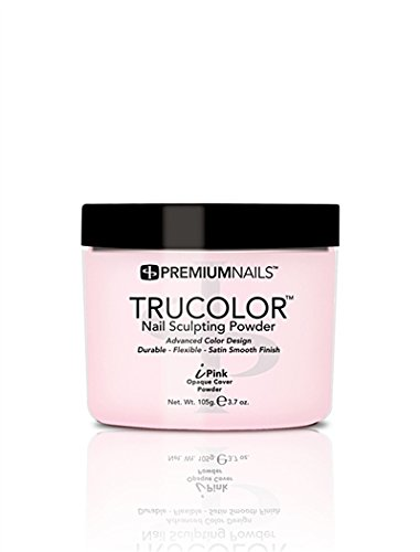 Premium Nail - Solar Acrylic Nails Powder-3.7oz - Opaque iPink by Premium Nail