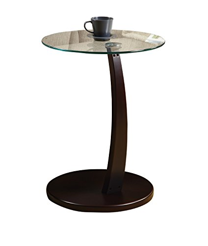 MONI3001 - Monarch Furniture CAPPUCCINO BENTWOOD ACCENT TABL