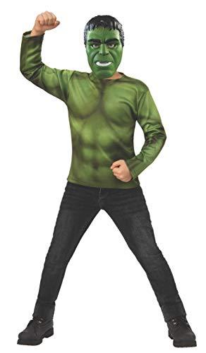 Rubie's Marvel: Avengers Endgame Child's Hulk Costume Top & Mask, Small ()