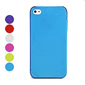0.5mm Ultra-Thin Protective Back Case for iPhone 4 - Different Colors Available , Green