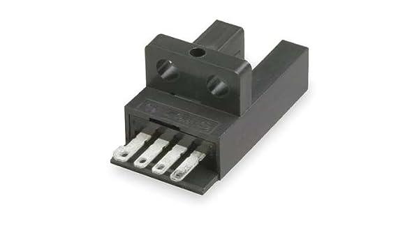 OMRON EE-SX671P Photoelectric Sensor,L-Slot,Thru-Beam