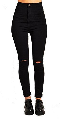 Lily Lulu Apparel Disco high Waisted Skinny Jeans Pants Acid wash Denim Skinny Jeans White Skinny Jeans Black Ripped…