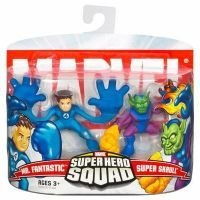 Marvel Super Hero Squad Mr. Fantastic & Super (Marvel Heroes Daredevil Costumes)