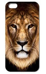 Fashion The Lion Pattern Protective Hard Case Cover For iPhone 5 5S #105