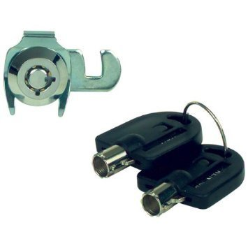 Kennedy 80401 Tubular Key High Security Lock Set For Use With Some Kennedy Machinist and Mechanic Chests