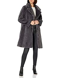 Women's Kiara Loose-Fit Long Faux Fur Coat