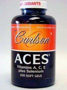 Carlson Laboratories - Aces A C E Plus Selenium, 200 softgel