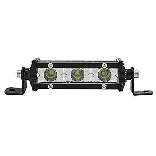 (SKYWORLD Single Row LED Light Bar 4inch 15W Low Profile Ultra Thin Slim Mini Spotlight On Grill Front Back Bumper Backup Light for Truck Ford RV Toyota Tacoma Trailer )
