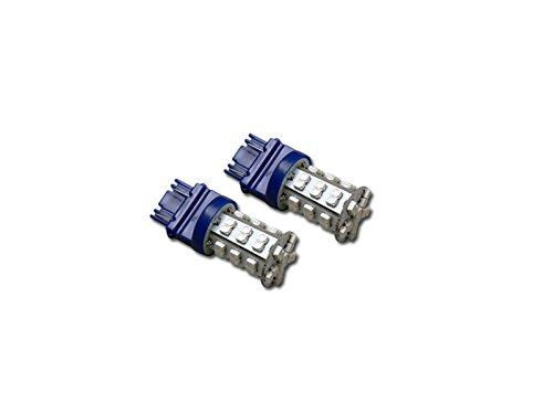 Velocity Concepts 2pc 3157 42x 3528 SMD LED Super Bright Blue Front Side Marker Light Bulb DC 12V