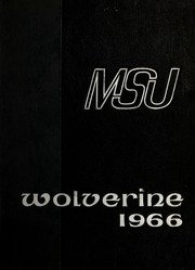 (Custom Reprint) Yearbook: 1966 Michigan State University - Red Cedar Log Yearbook (East Lansing, MI)