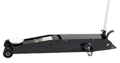 Omega 22050C Black Hydraulic Long Chassis Service Jack - 5 Ton Capacity