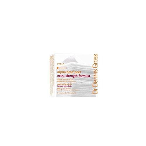 デニスグロス余分な強度アルファベータピール - 余分な強さ(5 ) x4 - Dr Dennis Gross Extra Strength Alpha Beta Peel - Extra Strength (5 Packettes) (Pack of 4) [並行輸入品]   B0718YZ43P