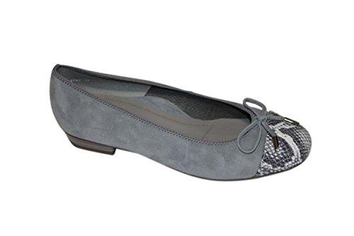 Ara - Bailarinas de Piel para mujer gris gris 37