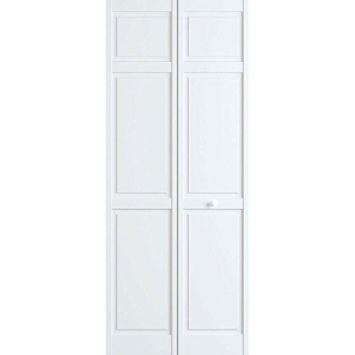 Six Panel Bifold, White, 24